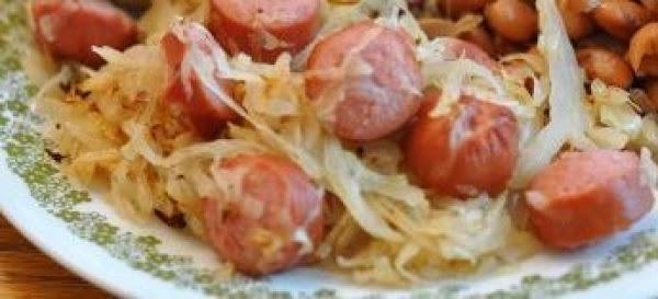 Sauerkraut & Weiners Recipe