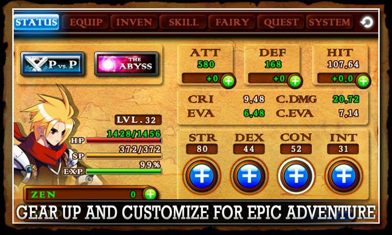Скриншот ZENONIA® 4