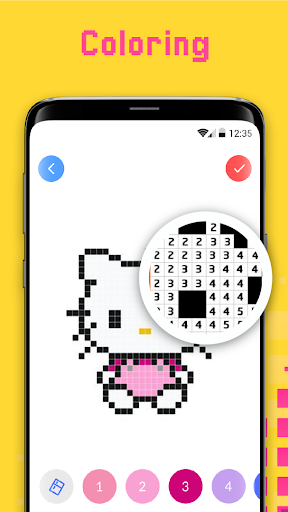 Color By Number - Pixel Art, Pixel Color 2018 for PC