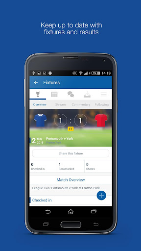 Fan App for Portsmouth FC