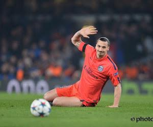 Ibrahimovic s'est entraîné en salle