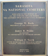 Photo: Dedication plaque (photo from FindAGrave)