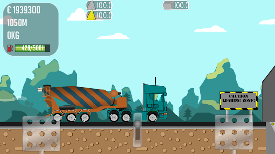Trucker Joe Mod Apk Download For Android and Iphone 5