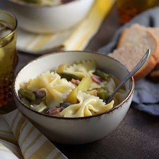 The Best Pennsylvania Dutch Ham, Green Bean and Potato Soup Recipe