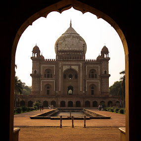 the last flicker in the lamp of Mughal architecture by Mandeep Singh - Buildings & Architecture Public & Historical ( canon, entry, safdurjaung, mughal, delhi )