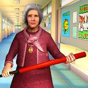 Scary Granny Teacher HighSchool