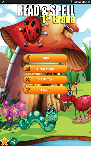 Read Spell Game First Grade