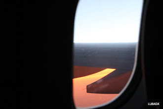 Photo: Amanecer desde el avion