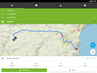 Komoot — Cycling, Hiking & Mountain Biking Maps APK screenshot thumbnail 11