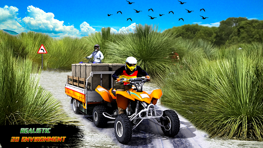 ATV Quad Bike Cargo Simulator Stunt Racing android2mod screenshots 7
