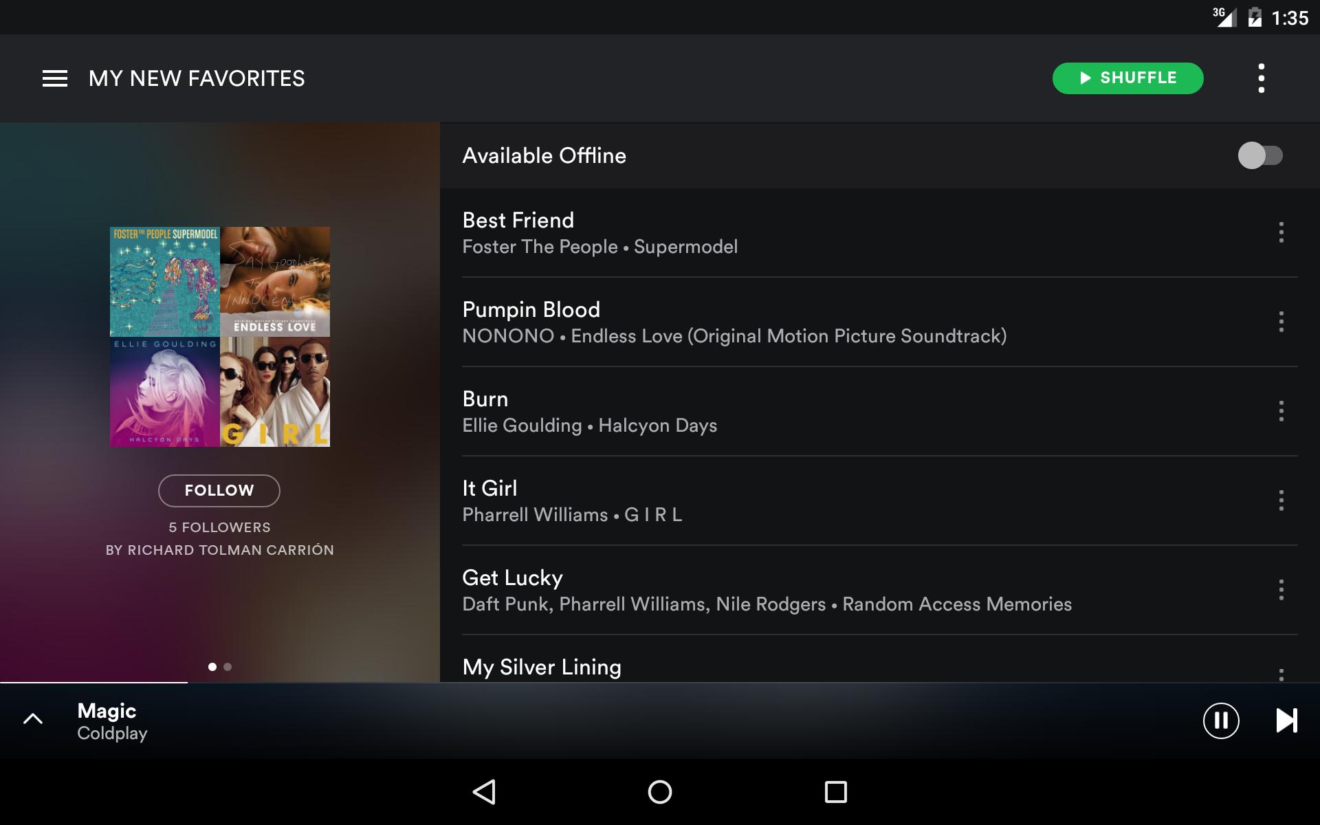 Spotify Music screenshot #10