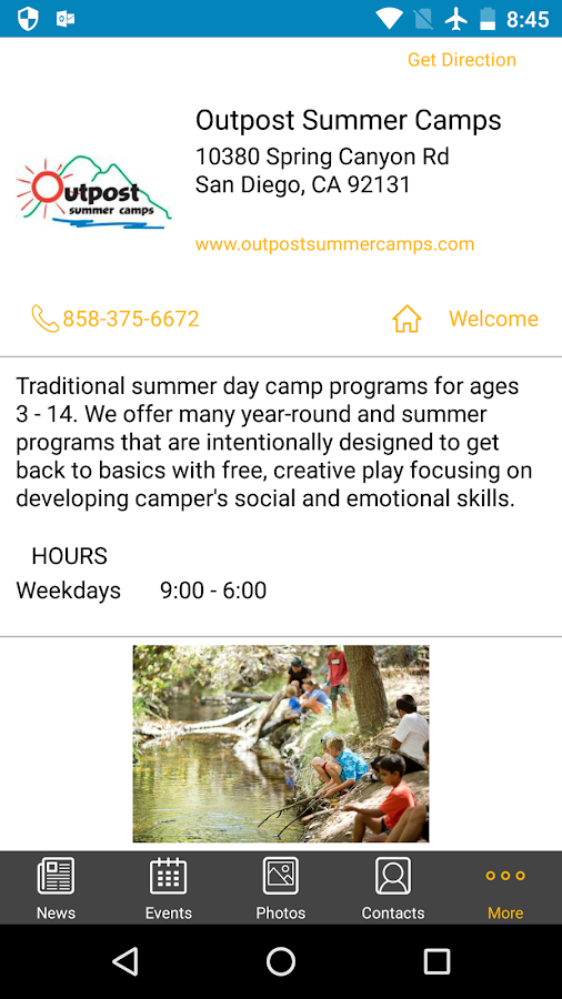 Outpost Summer Camps- screenshot