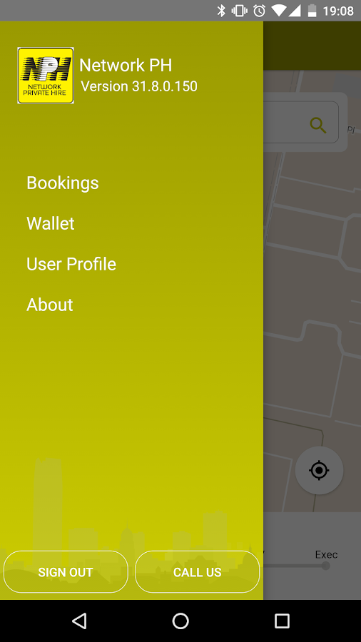 Network Private Hire- screenshot