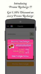 MobiLess - Online Recharge screenshot 4