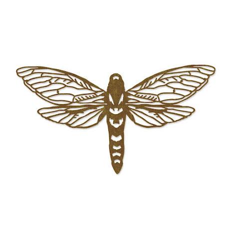 Tim Holtz Sizzix Thinlits Dies - Perspective Moth