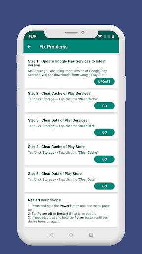 Fix Play Services 2020 (Update) 1.4 screenshots 2