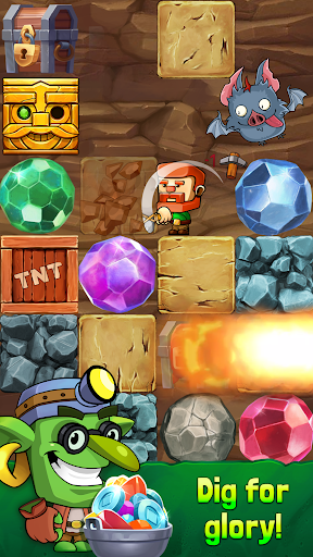 Dig Out! - Gold Digger screenshots 1
