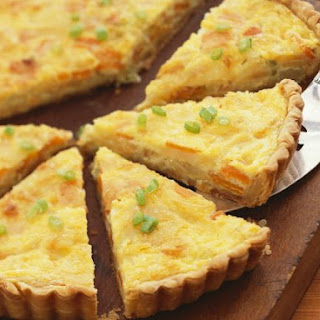 Wheat-free Root Vegetable Quiche