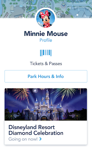6 Disneyland App screenshot