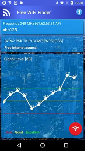Free WiFi Internet Finder  screenshots 3