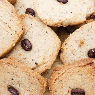 Coffee Walnut Cookies.