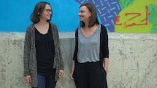 Las autoras de 'Let's Pacheco!', 'Troll Corporation' y 'Divas de diván' (Foto: Alba Diethelm).