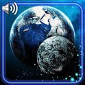 Earth and Moon Live Wallpaper icon
