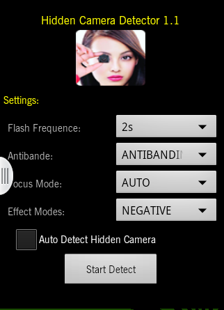 Hidden Camera Detector Android