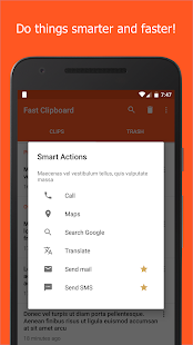 Fast Clipboard - Clipboard manager - náhled