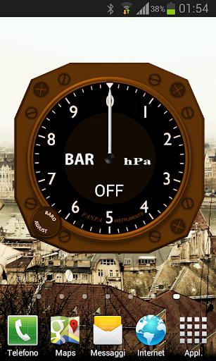 Barometer Widget