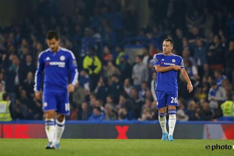 Chelsea a les deux pieds dans la crise