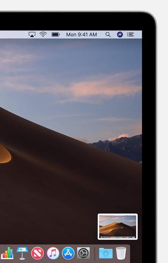 Capture d'écran MacOS vignette
