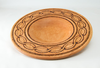 "Photo: Bill Autry - 10 1/2"" x 2"" bowl [cherry]"
