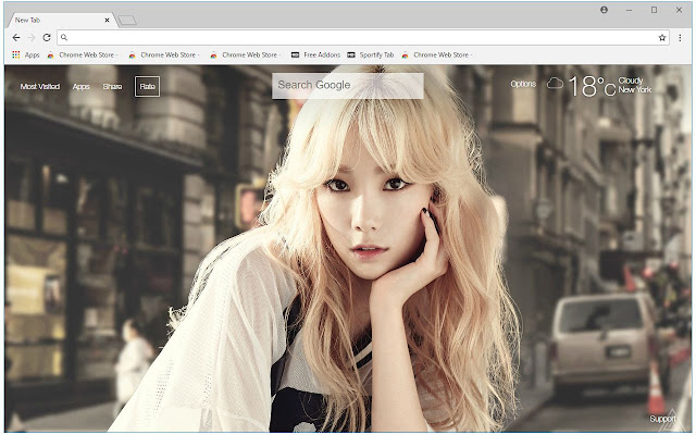 Kpop SNSD Wallpapers HD New Tab Themes