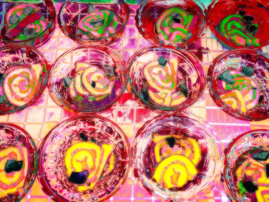 Concentric Circles a Wassily Kandinsky  di JILLIAN
