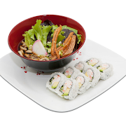Udon & Roll Lunch Combo