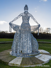 Photo: 'Mother Earth' by Andy Scott, Grandholm, Aberdeen