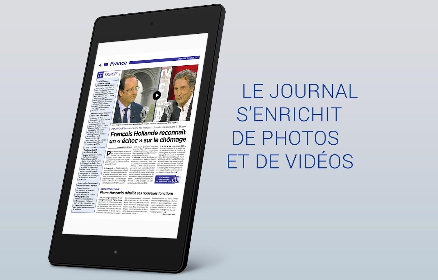 20 Minutes le journal- screenshot