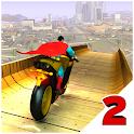 Super Hero Bike Mega Ramp 2 icon