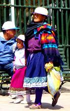 Photo: Colorful Cañari dress