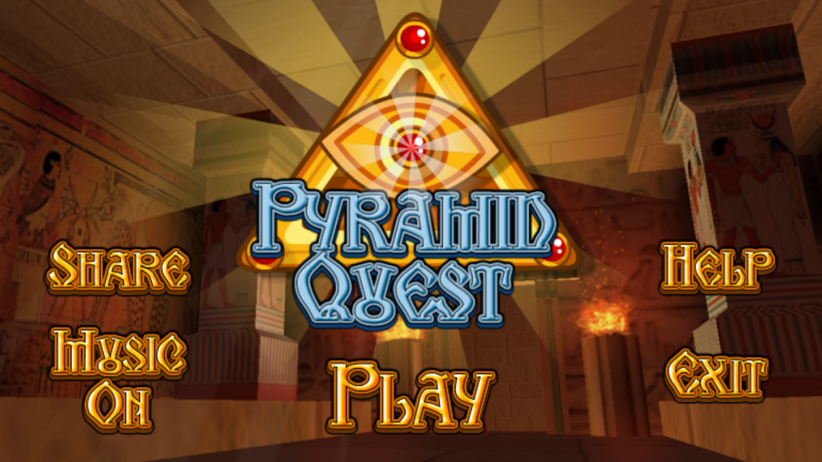 Pyramid Quest- screenshot