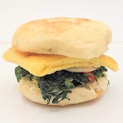 Breakfast Sandwich with Avocado (GF available)