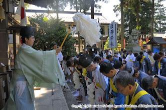 Photo: 【平成21年(2009) 本宮】  神輿渡御・山車運行の安全祈願。