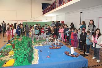 Photo: Crianças visitaram exposição de construções em Lego