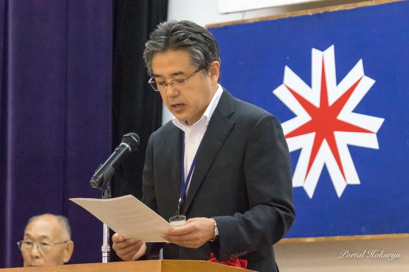 代読:社会福祉課・池崎達成 課長