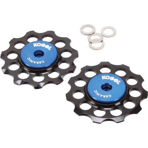 Kogel Bearings Hybrid Ceramic Derailleur Pulleys, 10/11sp