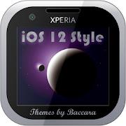 """XPERIA Theme """"iOS 12 Style"""""""