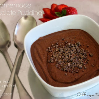 Homemade Chocolate Pudding {Gluten Free}