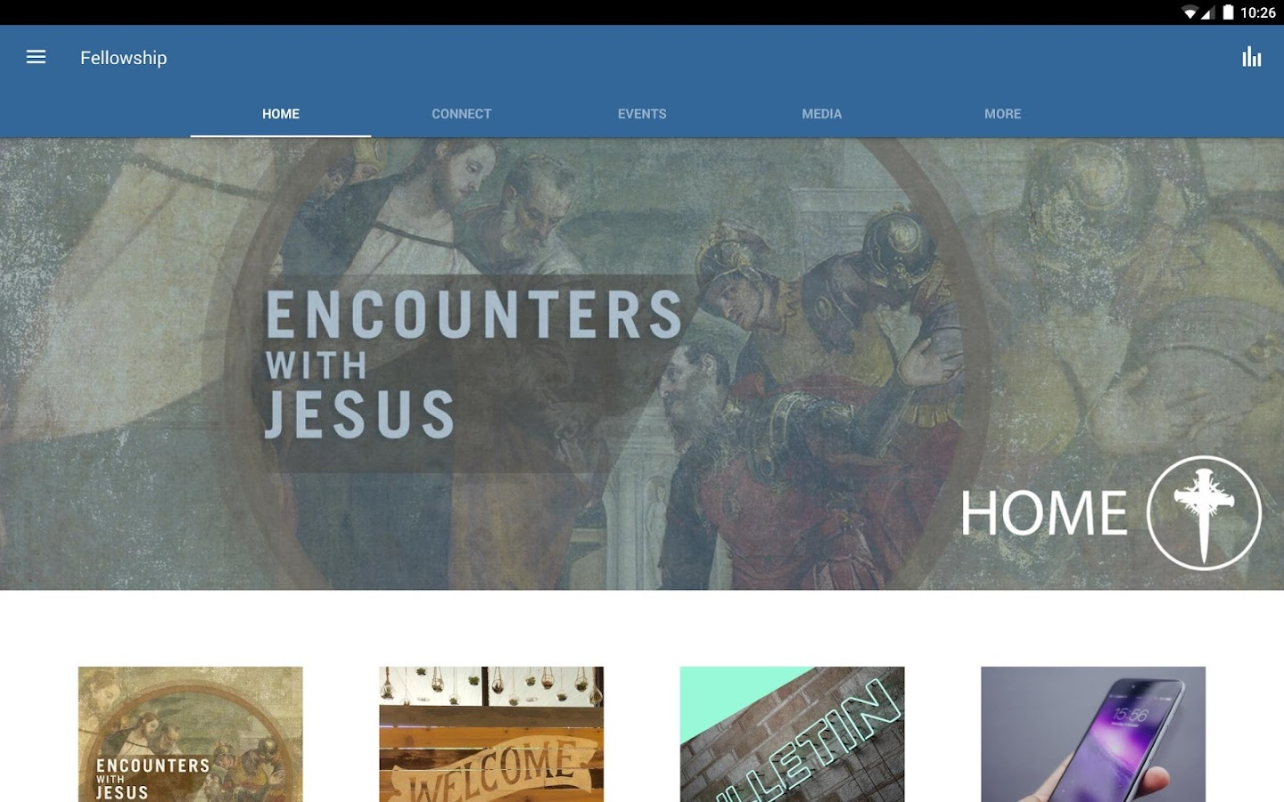 Fellowship Bible - Longview TX- screenshot