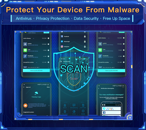 Nox Security - Antivirus, Clean Virus, Booster 1.1.7 screenshots 1
